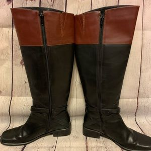 Shoes - Two Toned Coup D'etat High Boots